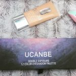 UCNABE 12 Colors Shimmer Matte Eyeshadow Palette