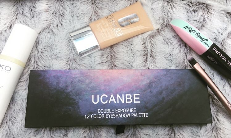 UCNABE 12 Colors Shimmer Matte Eyeshadow Palette