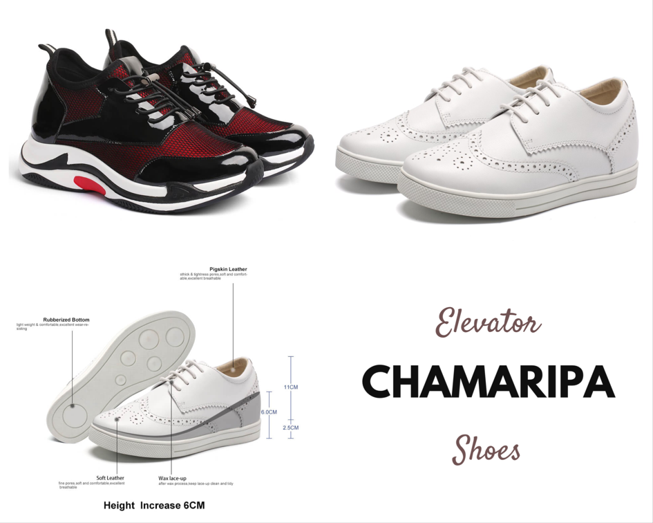 Women Elevator Shoes by Chamaripa